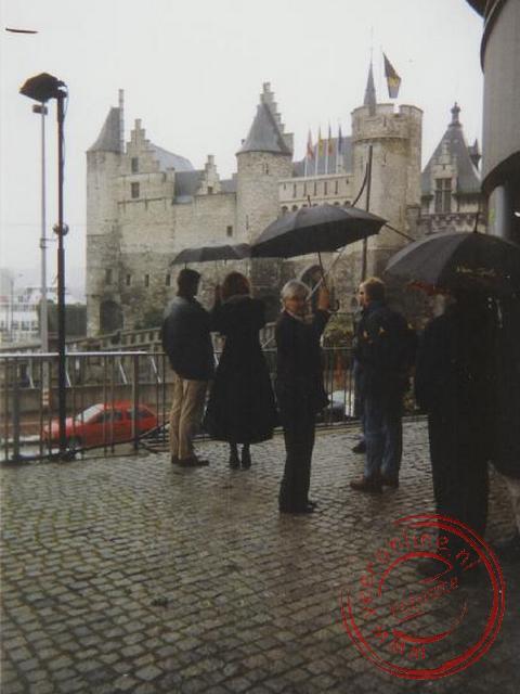 Het kasteel aan de kade van de Schelde was vroeger de gevangenis, nu een museum