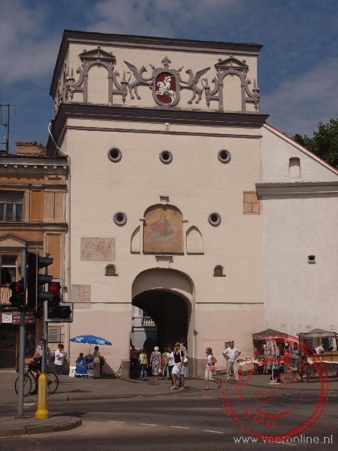 De Dageraadspoort maakte deel uit van de verdediging van Vilnius