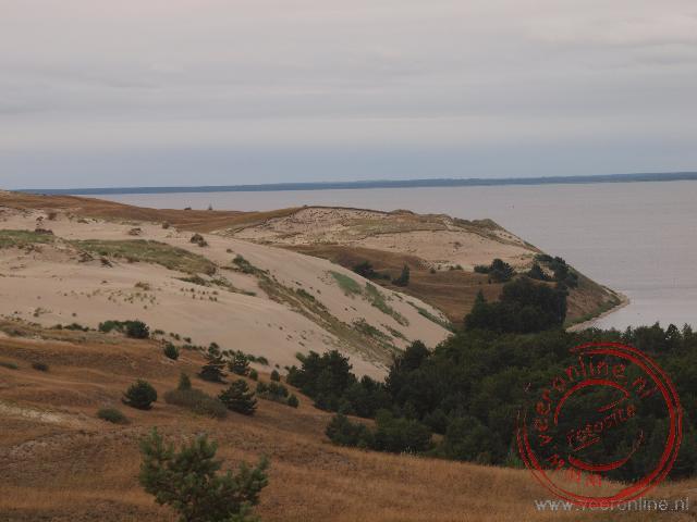 De Dode Duinen op het schiereiland Koerse Schoorwal in Litouwen