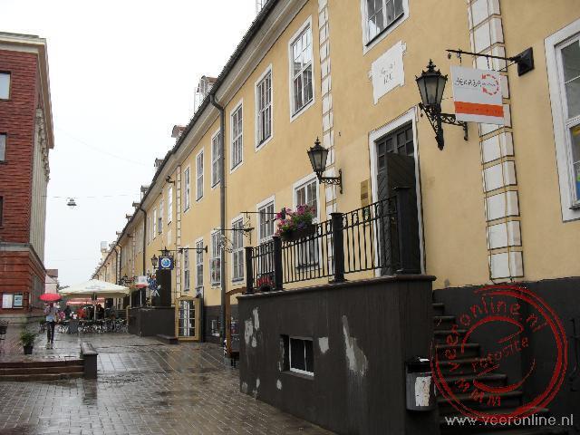 De voormalige Zweedse barakken in Riga