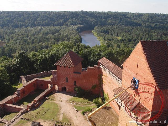 Het kasteel van Turaida