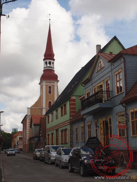 De Lutherse Elizabethkerk in Pärnu