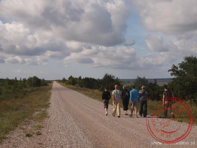 Een korte wandeling op het schiereiland Sõrve
