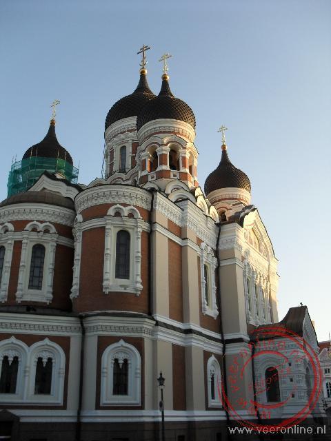 De imposante Alexander Nevski Kathedraal in Tallinn