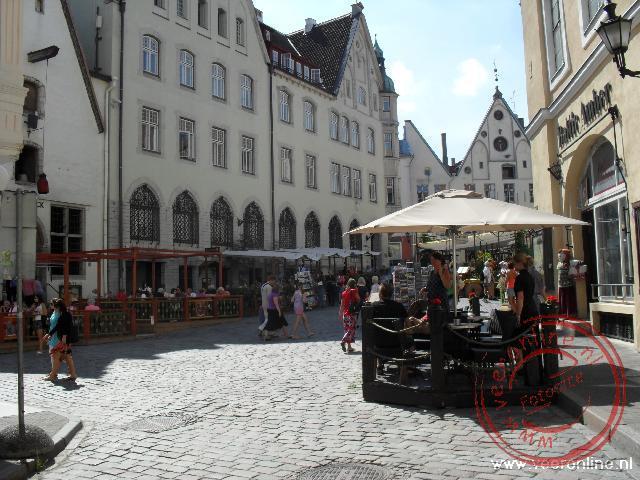 Het centrum van Tallinn heeft een Middeleeuwse uitstraling