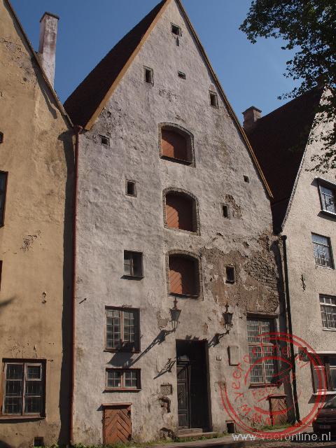 De oude pakhuizen laten zien dat Tallinn al eeuwen een handelsstad is geweest