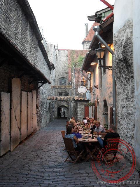 Romantisch eten in de sfeervolle Katariina Käik in Tallinn