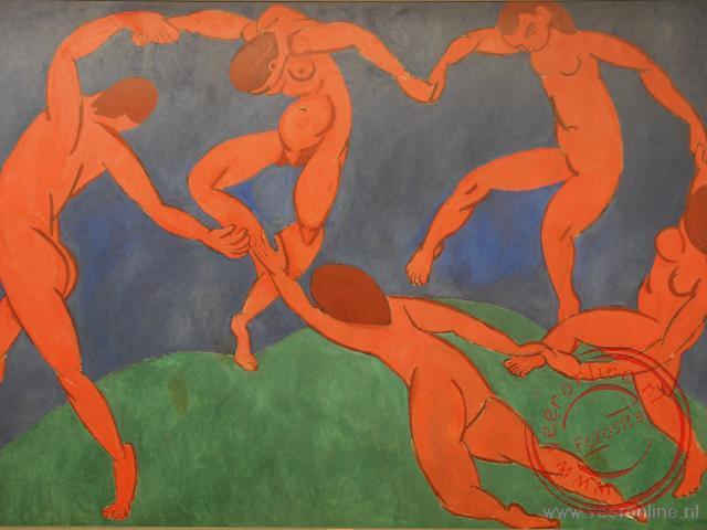 Matisse schilderde in 1910 het schilderij 'La Danse'