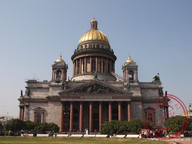De Izaäkkathedraal is een van de grootste kathedralen ter wereld