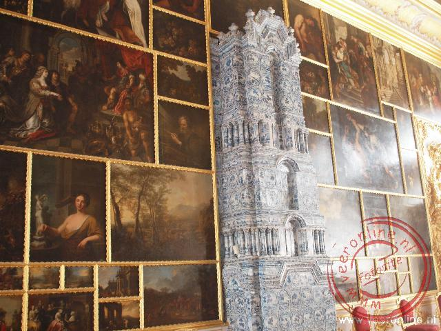 Franse, Nederlandse en Vlaamse meesters uit de 17de en 18de eeuw hangen in het Catharinapaleis
