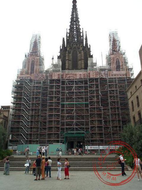 De kathedraal de Santa Eulàlia