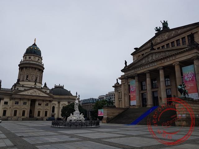 De Gendarmermarkt is misschien wel het mooiste plein van Berlijn