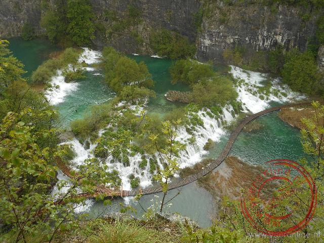 De prachtige watervallen en meren van Plitvice