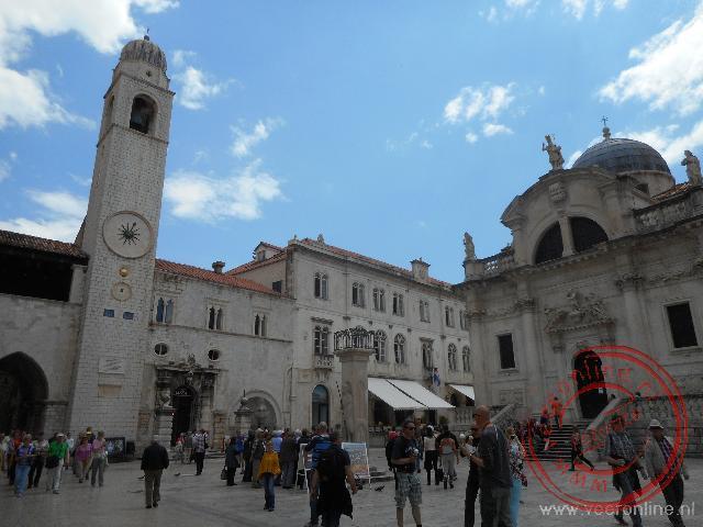 De oude ommuurde vestingstad Dubrovnik