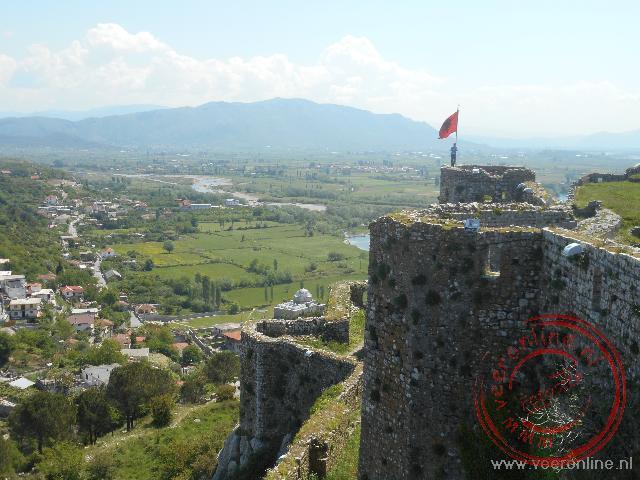 Het imposante kasteel van Shkodër