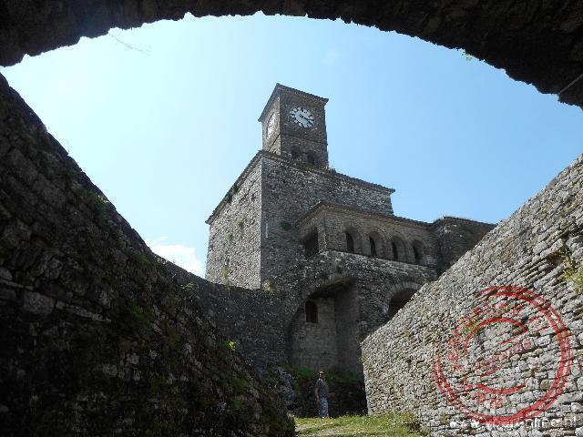 Een kapelletje in het fort van Gjirokaster