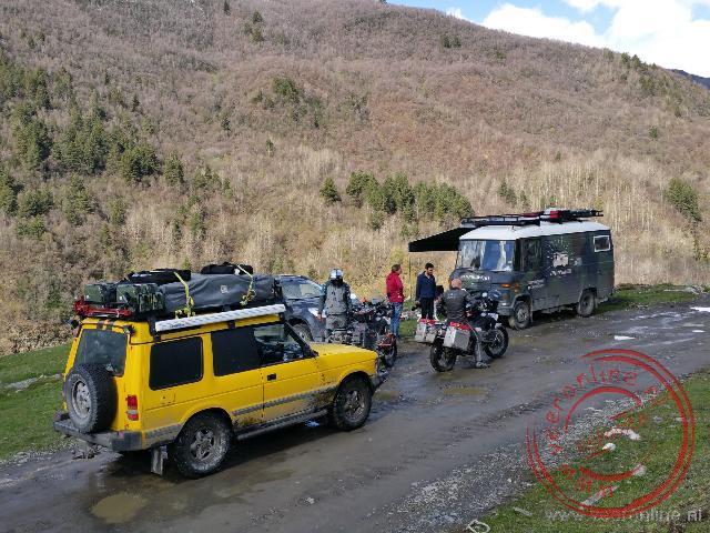 Een ontmoeting met de ook uit Nederland komende Circumbendibus in de bergen van Georgië