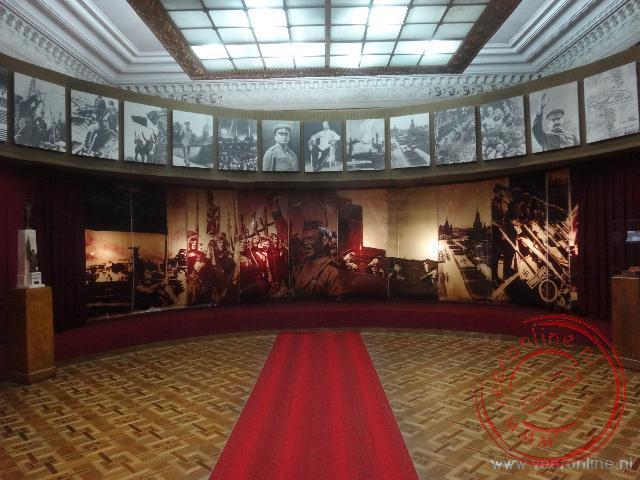 In het Stalin museum wordt Stalin vooral verheerlijkt