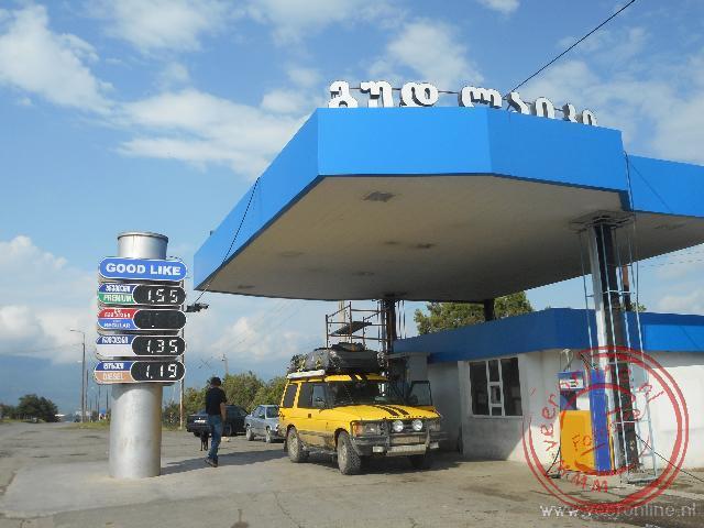 Tanken in Georgië