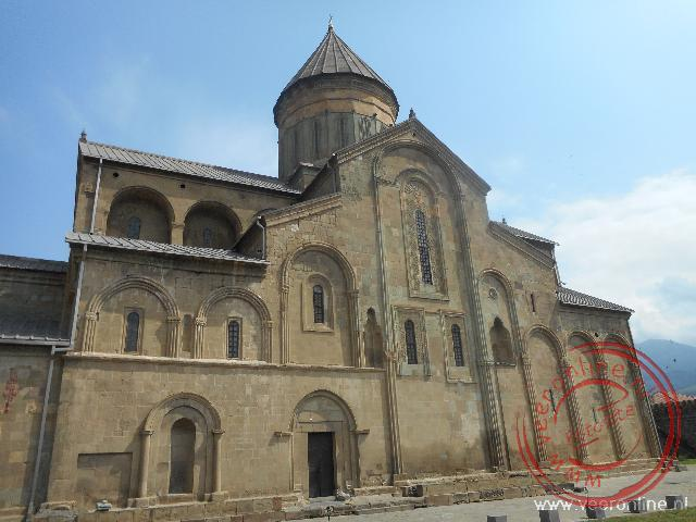 De ommuurde Svetitschoveli kathedraal