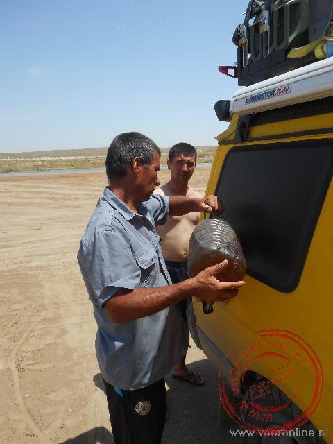 Het is lastig om aan diesel te komen in Oezbekistan