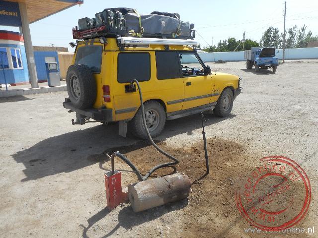 Na veel vragen is er een tankstation waar ze diesel verkopen