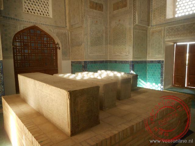 Een mausoleum van de neven van Timur Lenk in Shachrisabz