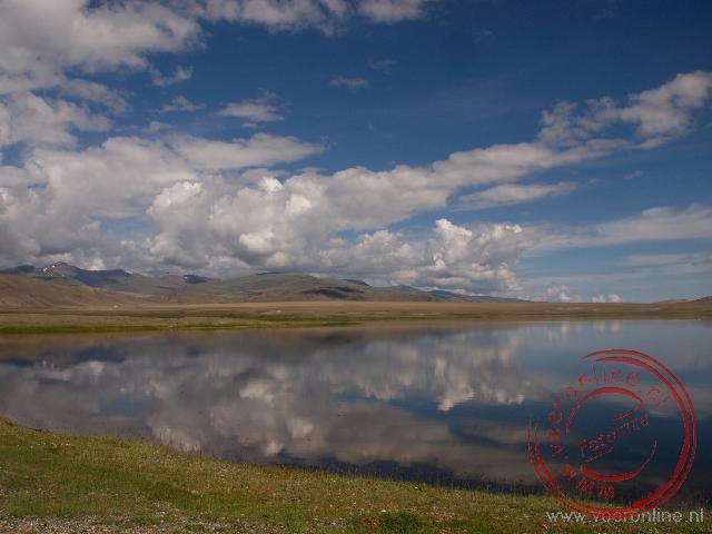 Het prachtige landschap van Mongolië