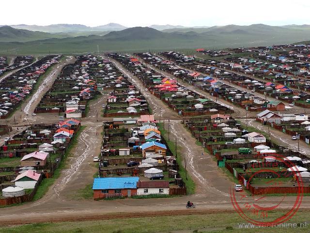 De Vinex wijk van Bayanghongor