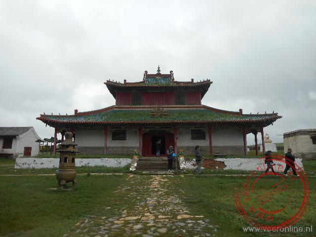 Het kleine klooster van Shankh Khiid