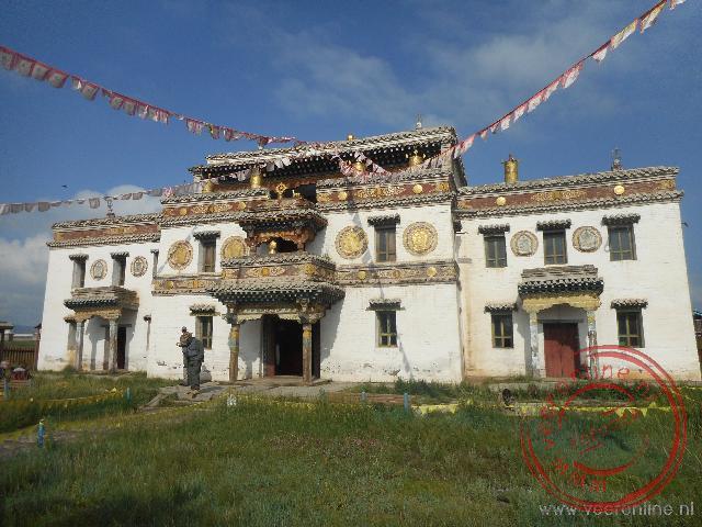 Het Tibetaanse klooster in Erdene Zuu