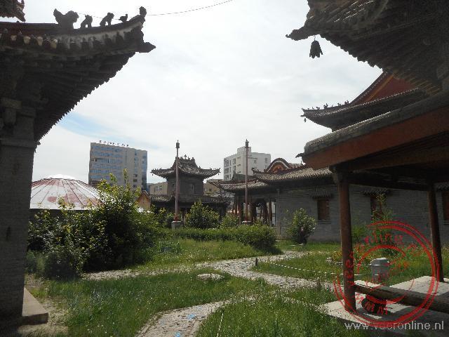 Het Choijin Lama klooster is tegenwoordig een museum