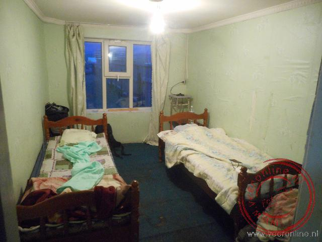 Een simpele kamer in Khulunbuir