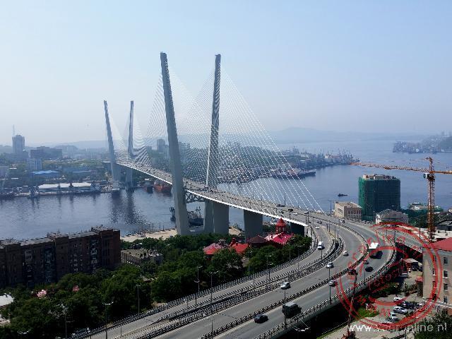 De Russky brug in Vladivostok