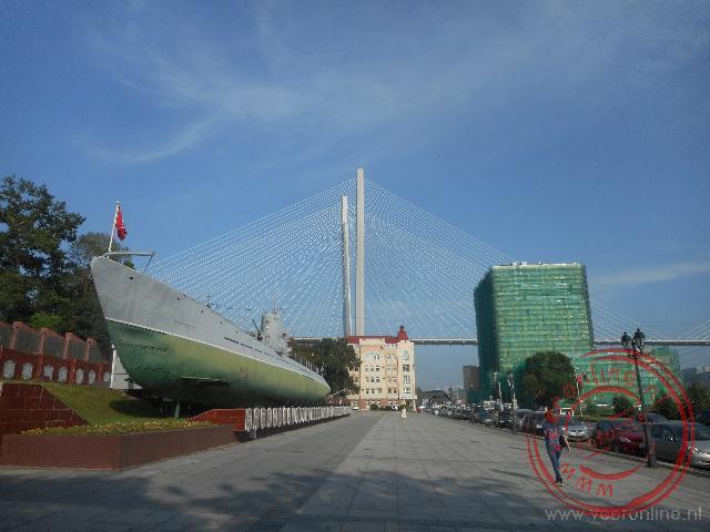 Een oude onderzeeër is nu museum