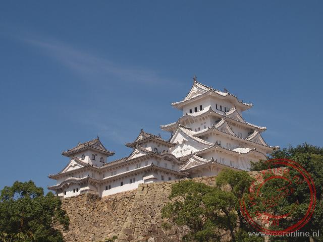 In Himeji staat het grootste bewaard gebleven Soemariekasteel