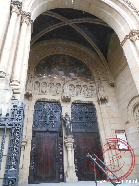 De Iglesia del Sagrado Corazón wordt verbouwd