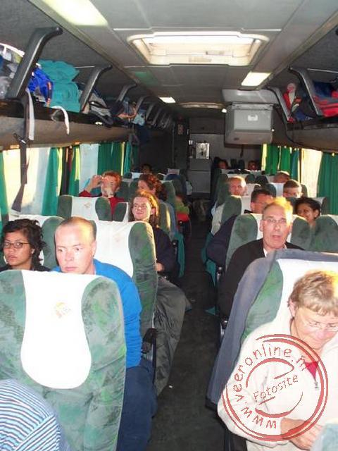 De nachtbus van Arica naar San Pedro de Atacama