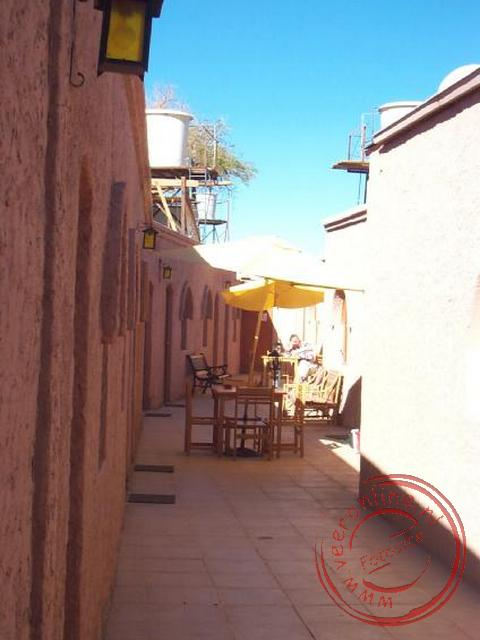 Het hotel in San Pedro de Atacama