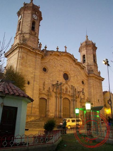 De kathedraal van Potosi