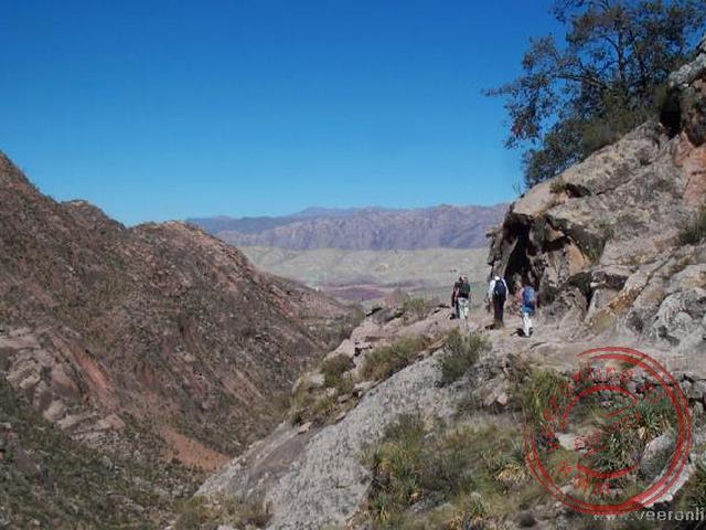 Een wandeling over het oude Inkapad vanuit Chataquila richting de rivier de Chaunaca