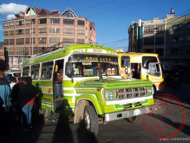 Het openbaar vervoer van La Paz