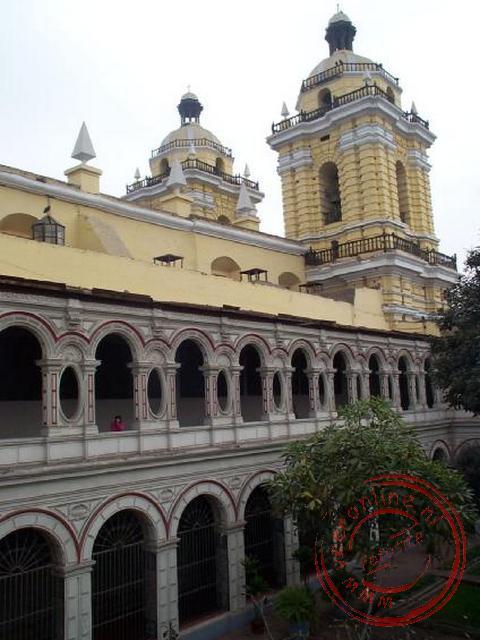 Het klooster van San Francisco