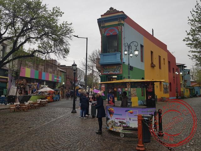 De kleurrijke kunstenaarswijk La Boca
