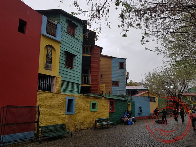 In de wijk La Boca woonden vroeger vooral migranten