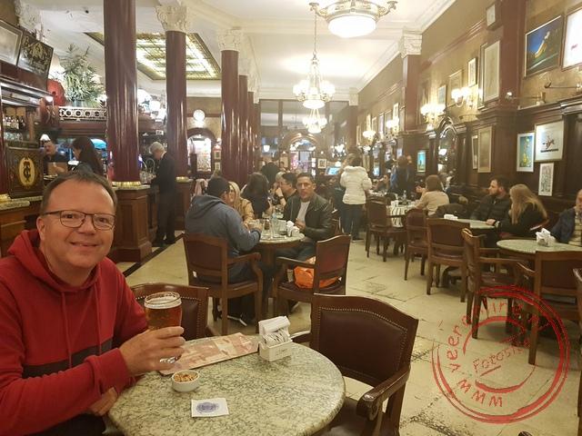 Tortoni uit 1858 is het oudste café van Buenos Aires