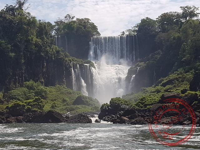 De Iguazú Fall is één van wereld's mooiste waterval