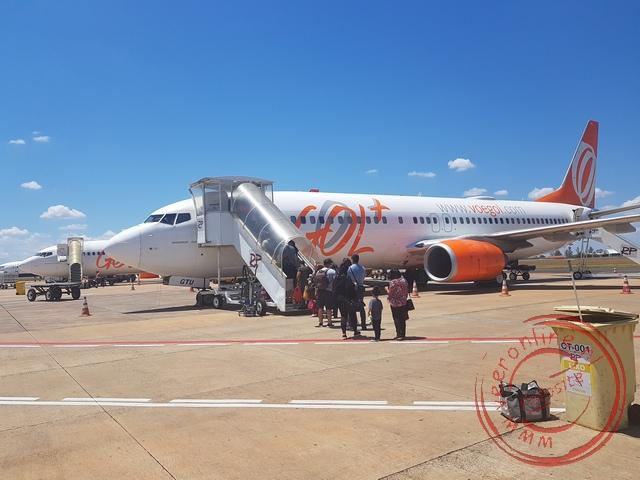 De vlucht naar Sao Paulo