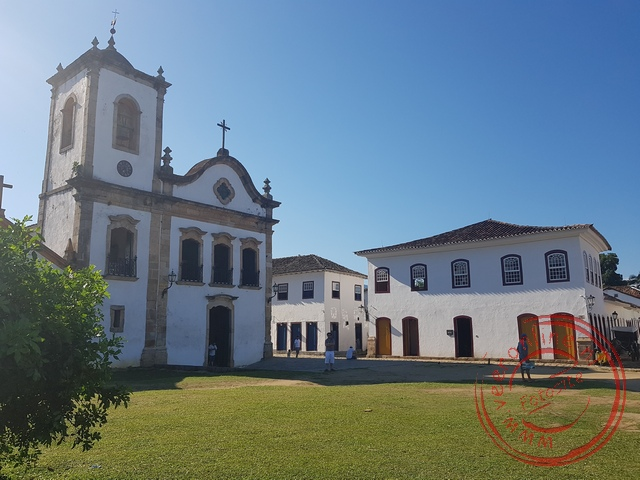 De Santa Rita kerk in Paraty
