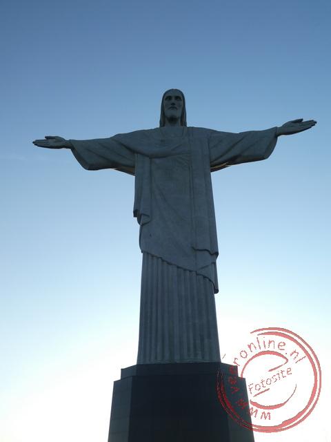 Het beroemde 38 meter hoge Christusbeeld in Rio